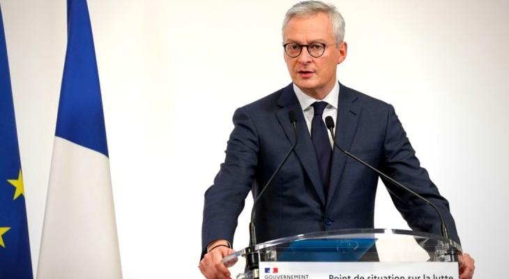Ministrul francez al economiei, Bruno Le Maire: