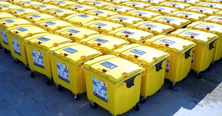 De mâine apar containerele galbene, în tot orașul Constanța