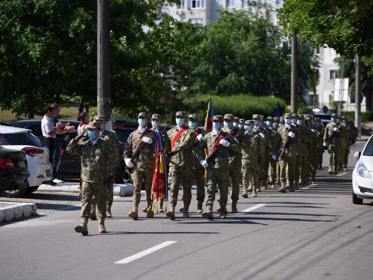 Martirii neamului românesc au fost omagiați de Ziua Eroilor, în municipiul Medgidia