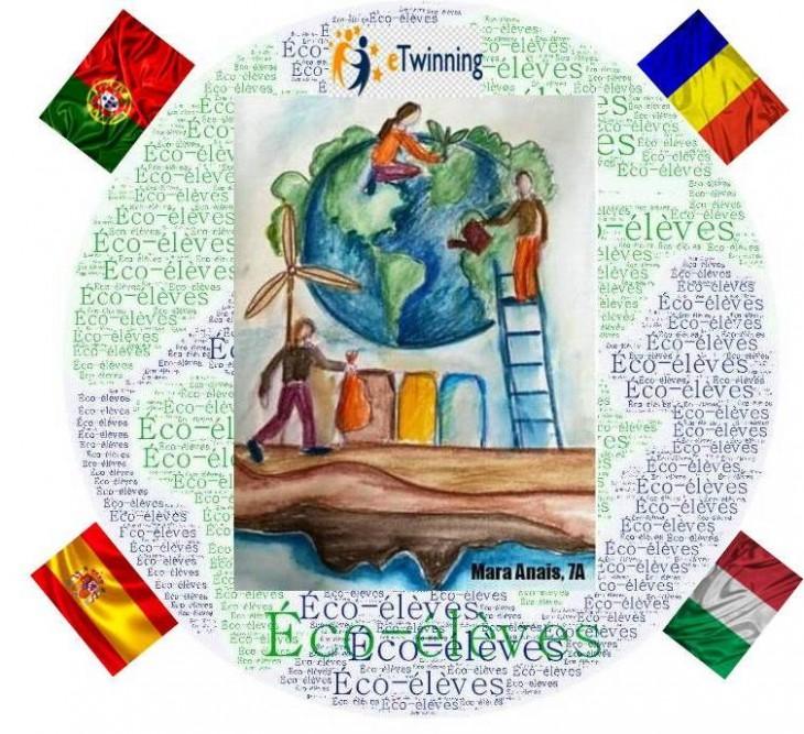 """Școala """"Gheorghe Țițeica"""" a încheiat un nou proiect de succes, alături de parteneri din Spania, Italia și Portugalia"""