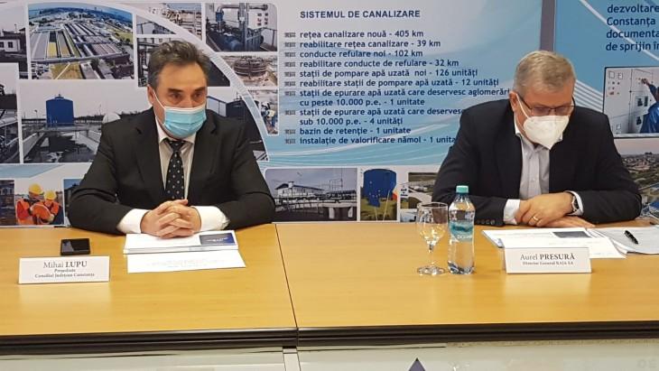 RAJA continuă programul de modernizare și dezvoltare a sistemelor de alimentare cu apă din județul Constanța