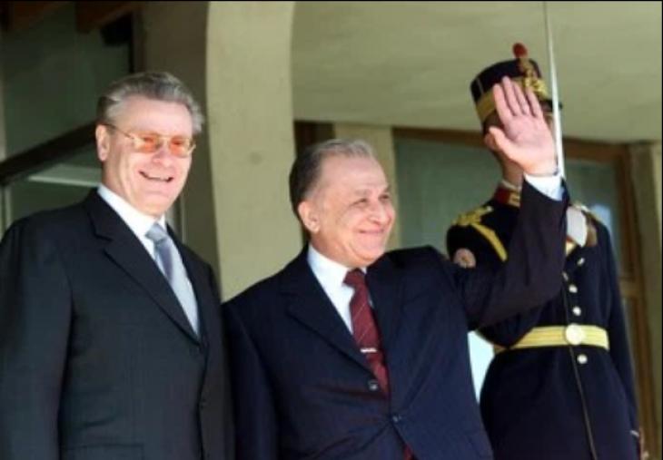 Petru Lucinschi și Ion Iliescu - București
