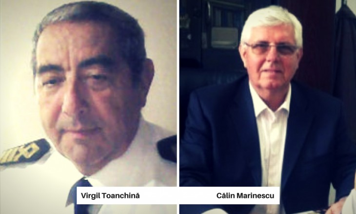 Virgil Toanchină și Călin Marinescu