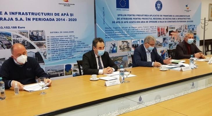 Infrastructură nouă de apă și de canalizare pentru Cernavodă, Făclia, Tortoman, Mircea Vodă și Satu Nou