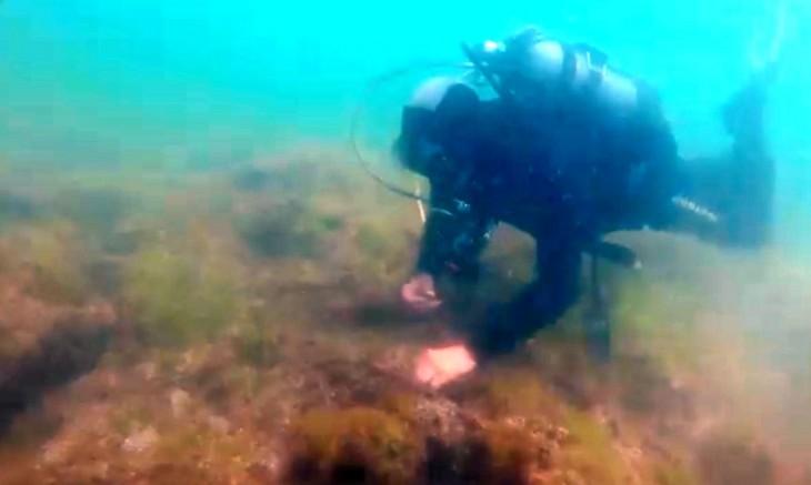 """""""Vestigii subacvatice"""" – un proiect inedit care promovează în rândul tinerilor vestigii scufundate ale cetății antice Tomis"""