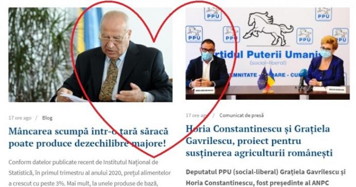 Micuțul Horia Constantinescu a devenit soldatul lui Dan Voiculescu, în partidul Umanist