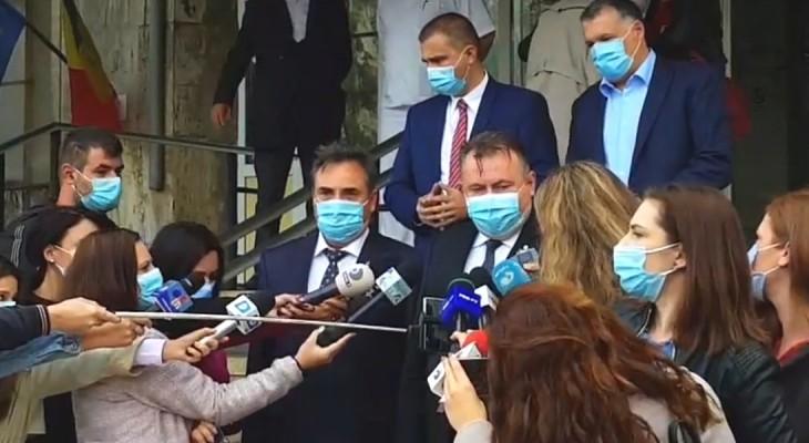 Spitalul Județean Constanța devine unitate Covid? Vizita lui Nelu Tătaru și suplimentarea paturilor