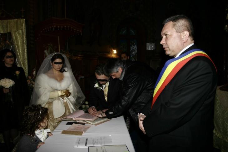 Andrei Șerban oficiază nunta fiicei sale