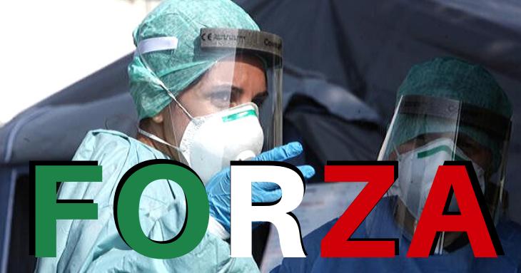 Italia se ridică la luptă. 7220 de medici voluntari intervin în Lombardia!