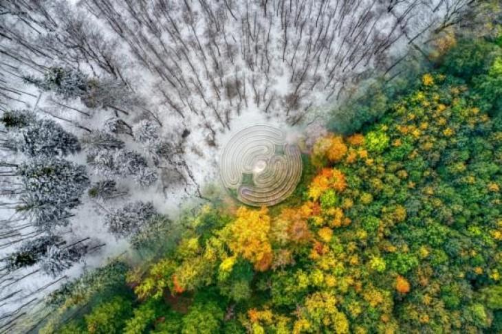 Toamnă/iarnă în Munții Jeseníky, Republica Cehă TOMAS NEUWIRTH