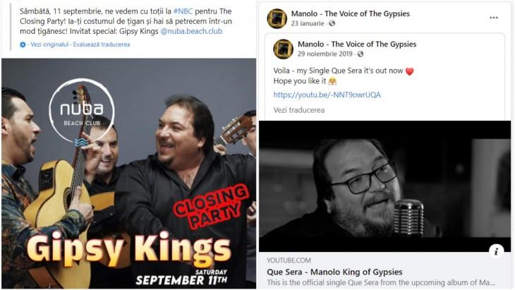 Reprezentanții Nuba Beach Club mint cu nerușinare că în Mamaia va cânta trupa Gipsy Kings