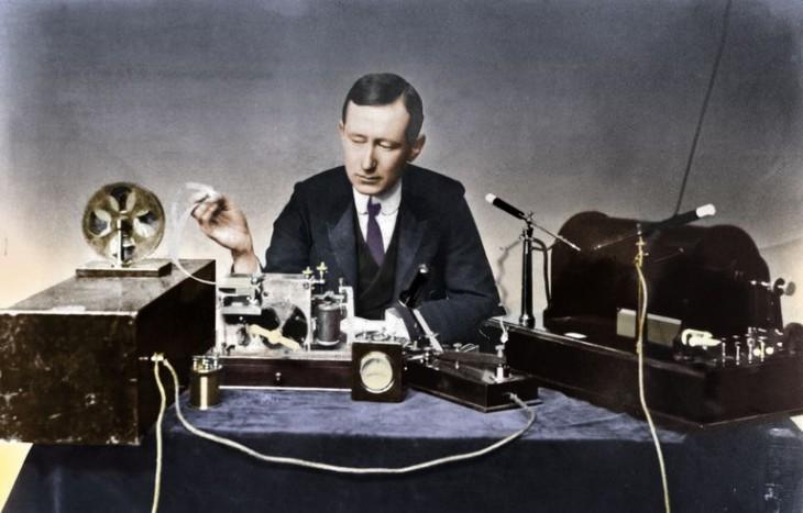 Guglielmo Marconi - fondatorul companiei MARCONI