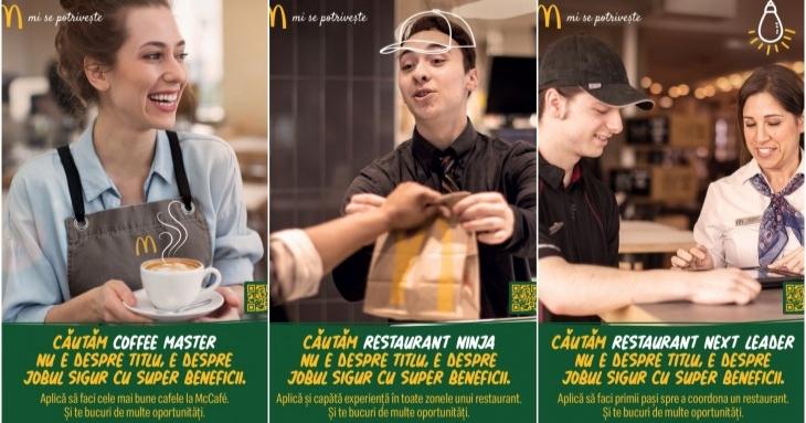 McDonald's face angajări pentru magazinele din Constanța