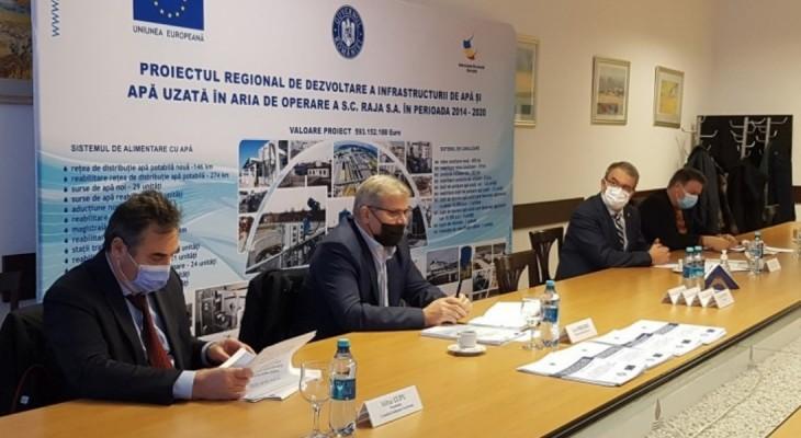 Noi investiții demarate în  infrastructura de apă și apă uzată din județele Constanța și Ialomița
