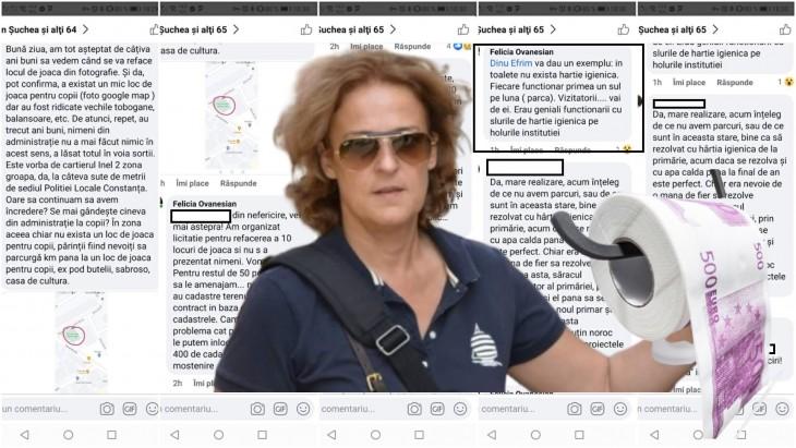 Felicia Ovanesian a rezolvat problema cea mai gravă din Primăria Constanța: lipsa hârtiei igienice