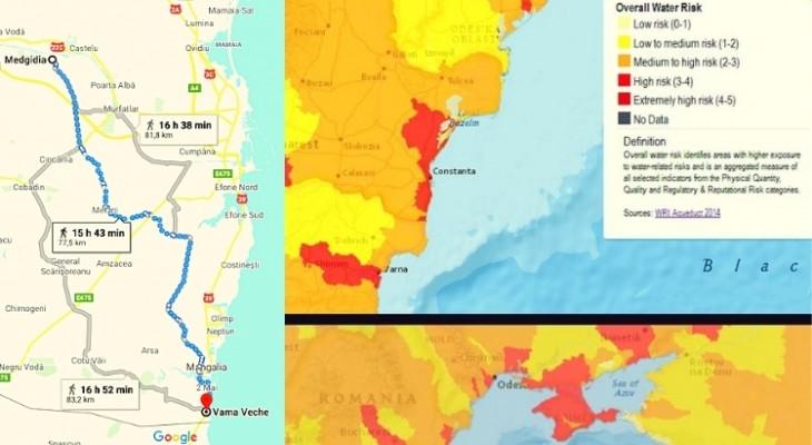 Constanța și litoralul riscă să rămână fără apă. Povestea magistralei de 80km Medgidia - Vama Veche