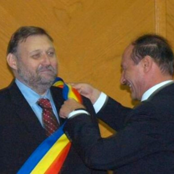 Răzvan Murgeanu și Traian Băsescu
