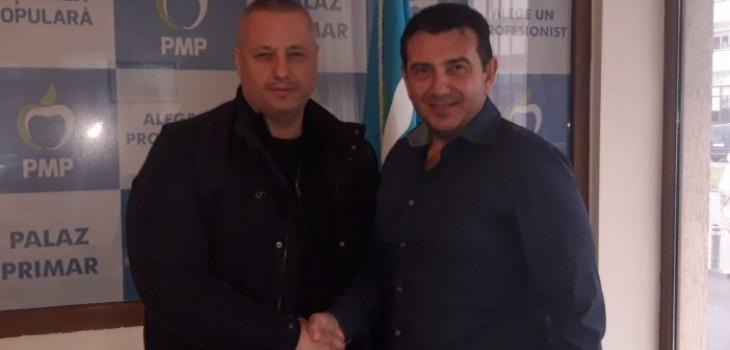 Laurențiu Mironescu și Claudiu Palaz, sediul PMP Constanța