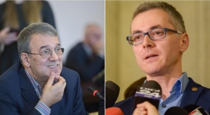 """Vergil Chițac îl acuză pe Stelian Ion de blat cu PSD. Răspuns dur din partea liderului USR: """"Te ascundeai pe sub masă"""""""
