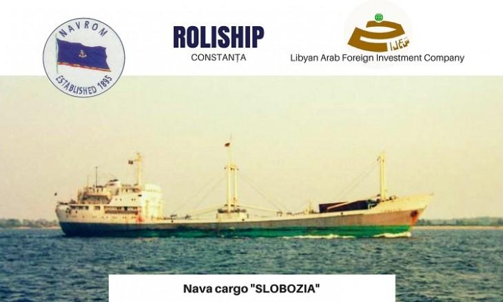 """Nava Cargo """"SLOBOZIA"""" – Compania ROLISHIP Constanta"""