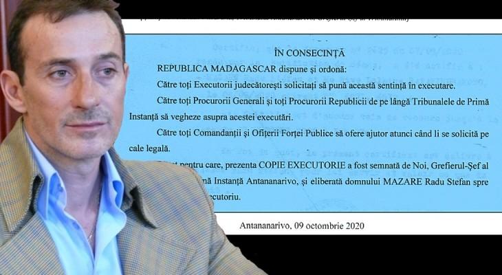 Instanța din Magadascar lansează bomba: Radu Mazăre a fost extrădat ILEGAL și trebuie eliberat IMEDIAT