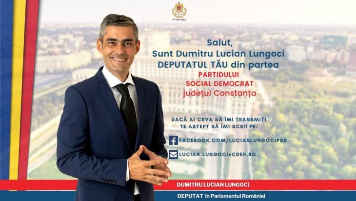 PSD-istul Lucian Lungoci e supărat că liberalii nu fac într-un an ce n-a făcut PSD în 20