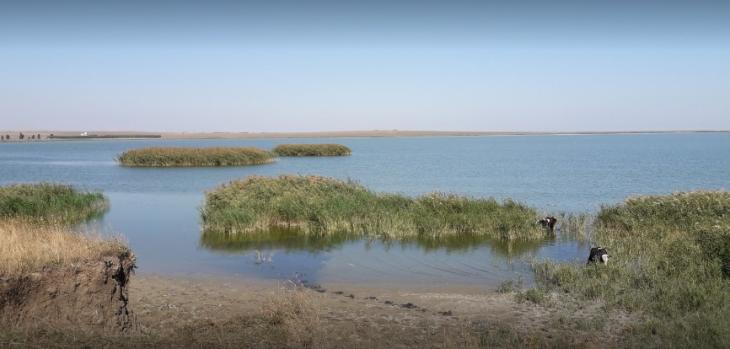 Lacul Nuntași din Comuna Istria - Așa cum arăta el inainte de acest dezastru