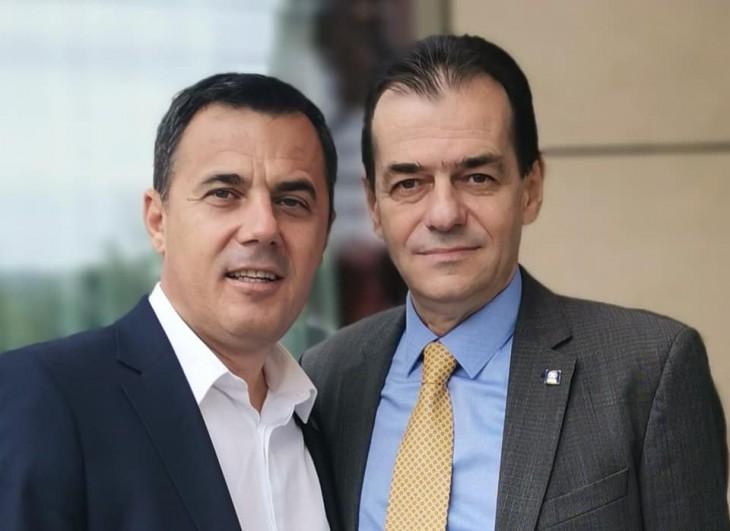 Ion Ștefan și Ludovic Orban (președintele PNL)