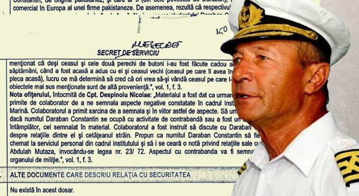 Document GIP: Traian Băsescu l-a turnat pe colegul său de facultate, viitorul comandant Daraban Constantin