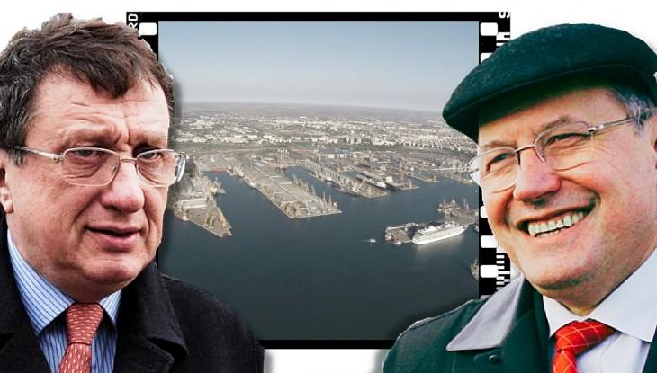 DOCUMENT: Oculta portuară pregătește o nouă lovitură. Băieții deștepți vor să acapareze porturile prin Lege