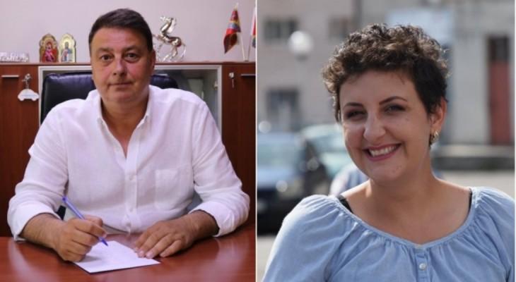 """Florin Mitroi, primarul din Valu lui Traian, sare la gâtul Cristinei Rizea, deputat USR. """"Vinde gogoși"""""""
